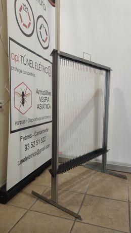 Harpa DUPLA grande e eletrónicas - Anti vespa velutina asiática