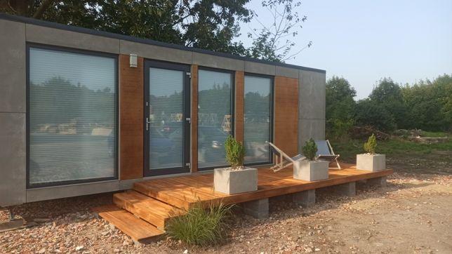 Dom mobilny domek holenderski nowy całoroczny letniskowy