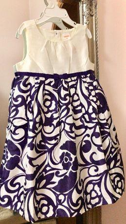 Платье нарядное для девочки от 93 до 106 см