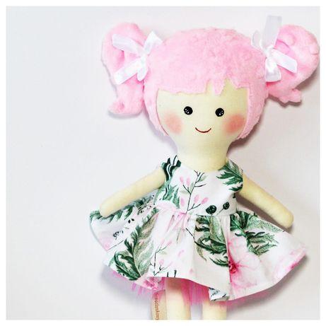Lalka Szmaciana Sweete Doll Hand Made Rękodzieło Przytulanka Prezent