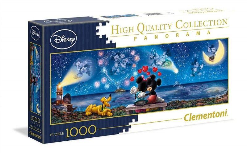 Puzzle 1000 elementów. Mickey & Minnie, nowe Poznań - image 1