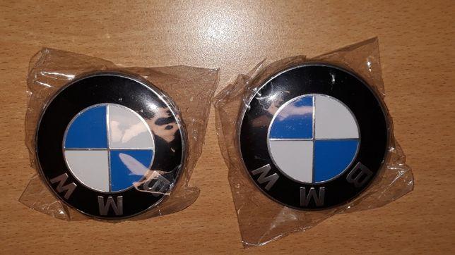 Tampas centro de jante BMW 68mm/ Emblemas capot Traseira novas