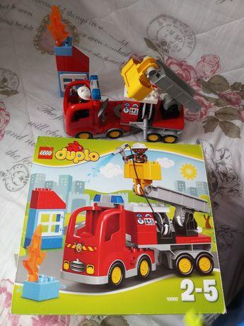 """Lego duplo 10592 """"woz strażacki"""""""