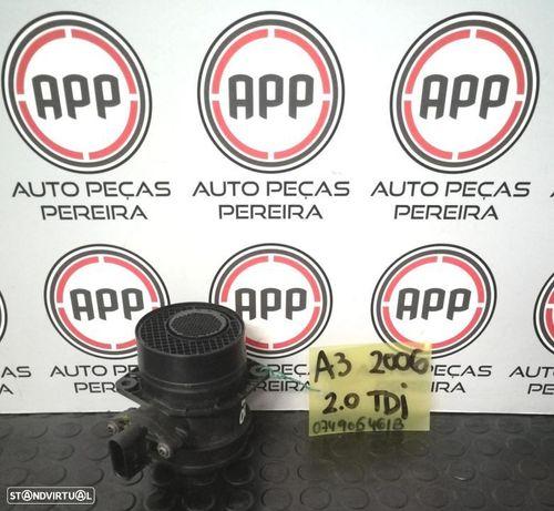 Medidor de massa de ar VW Golf 5, Leon, Audi A3 2.0 TDI referência  074906461B