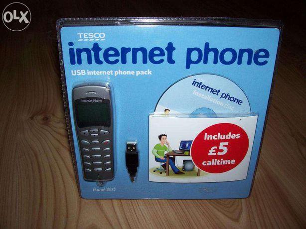 Internet phone - telefon do rozmów internetowych