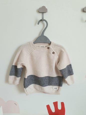 Sweter newbie bluza kappahl roz.68 bawełna