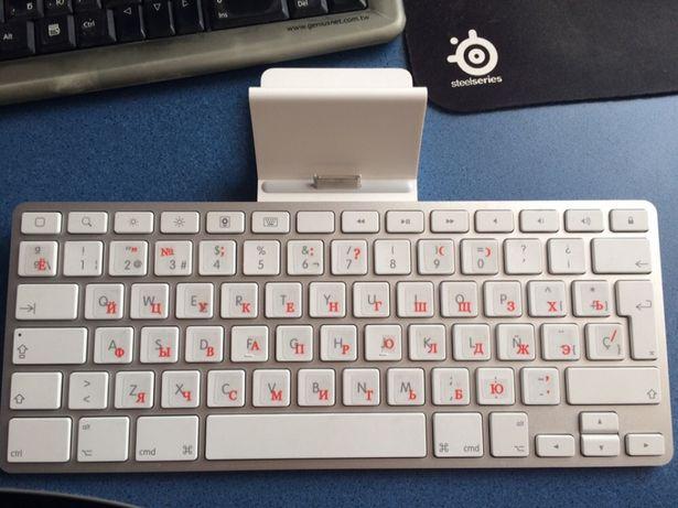 Оригинальная клавиатура Apple iPad Keyboard Dock A1359