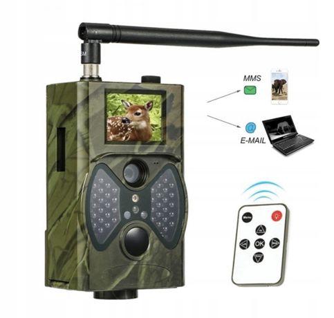 Fotopułapka HC 300M kamera leśna noktowizor SIM monitoring MMS FullHD