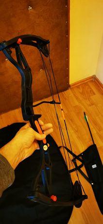 łuk bloczkowy używany +pokrowiec+kołczan+1 strzała