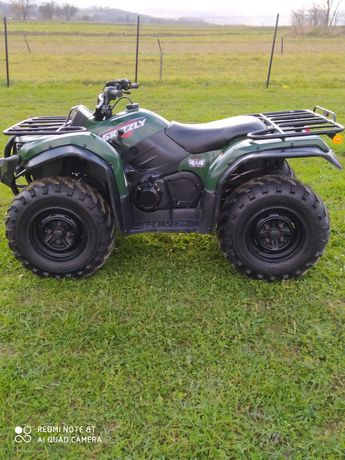 Quad yamaha grizzly 450