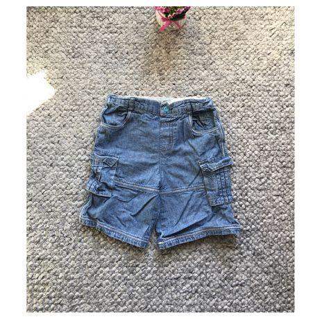 Spodenki krótkie 92-98 cm (2-3 lata) mini mode jasnoniebieskie