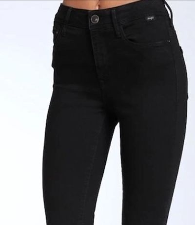 Черные джинсы Mavi с завышенной талией