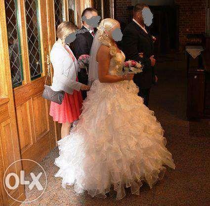Suknia ślubna Księżniczka Princess r.38 ŚLICZNA