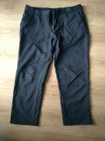 Spodnie asos szare 42 xl