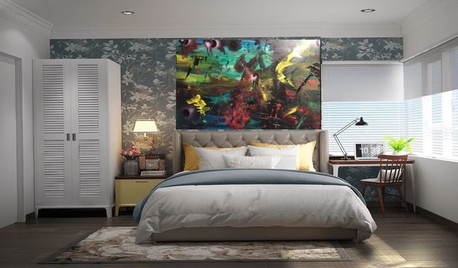 Obraz, abstrakcja- modern