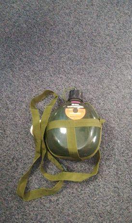 Nowy bidon wojskowy z uchwytem survival dla wędkarza na biwak itp