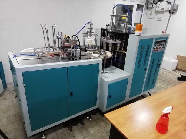 Станок по изготовлению бумажных стаканов для кофе (175мл, 250, 340)