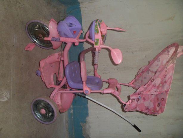 детский трёх колесный велосипед