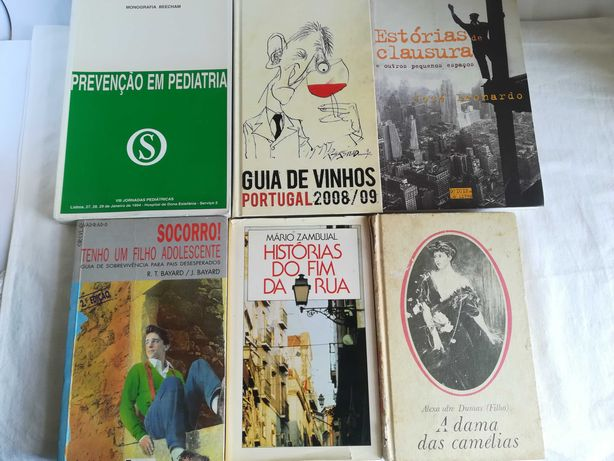 10 Livros - Vários