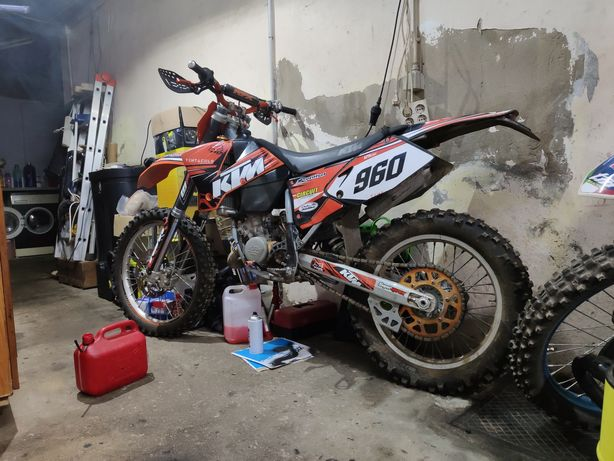 Mota  KTM  125sx