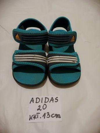 Adidas sandałki rozm 20 wkładka 13 cm