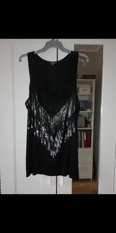 Ciążowa bluzka z cekinami na impreze roz. XL