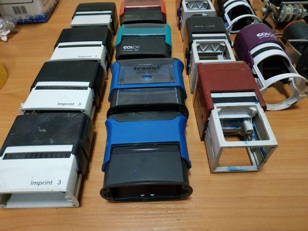 Оснастки для печатей, датеры, штампы