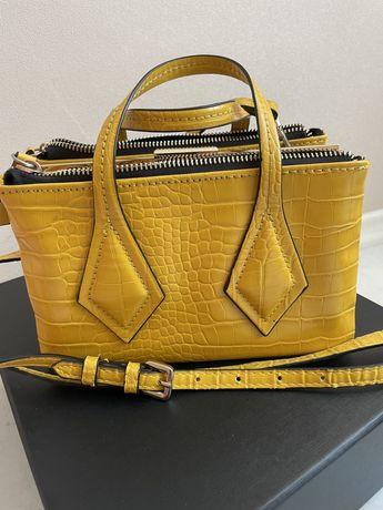 Продам желтую сумку