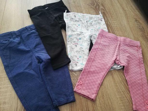 Spodnie 4 sztuki rozm. 68, hdm, coccodrillo i cool Club