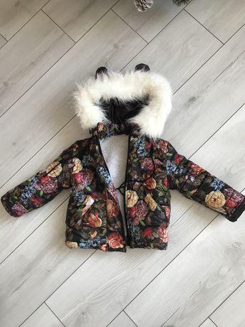 Дитяча зимова куртка на зріст 1-2 роки