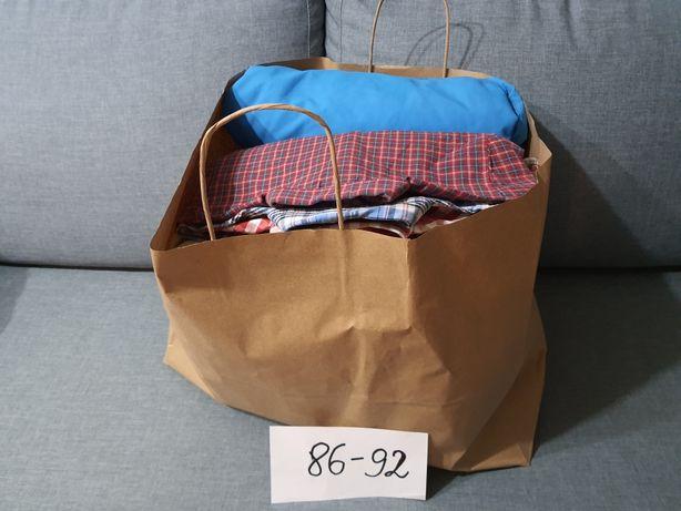 Paka ubrań chłopięcych rozmiar 86-92