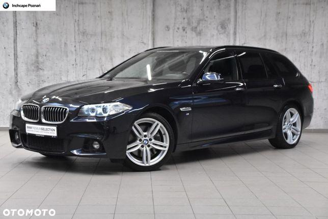 BMW Seria 5 M Pakiet|218KM/450Nm|Dach panoram.|Adapt. zawieszenie|Fotel sport.