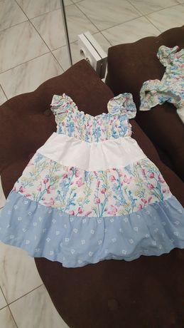 Плаття літнє для дівчинки, 12 міс, 1 рік, 80 см