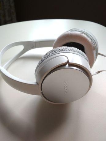 Słuchawki nauszne Sony MDR-XD150 białe