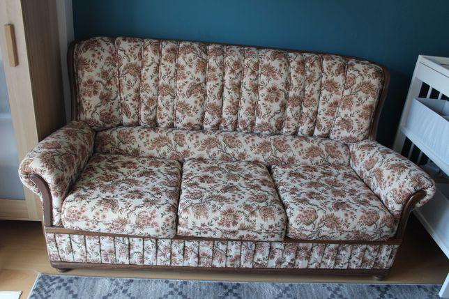 Sofá com cama antigo