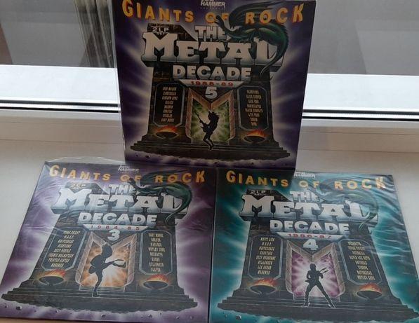 Винил 2LP Giants Of Rock. Metal Decade. Vol.3-4-5. 1990-1991.