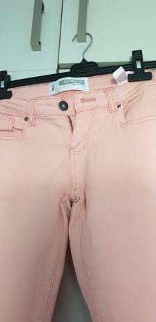 Spodnie Croop M blady róż, elastyczne
