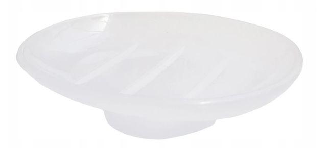 Wkład mydelniczki owalny BISK AKRYL