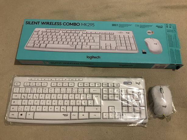 Безпроводная клавиатура с мышкой Logitech MK295