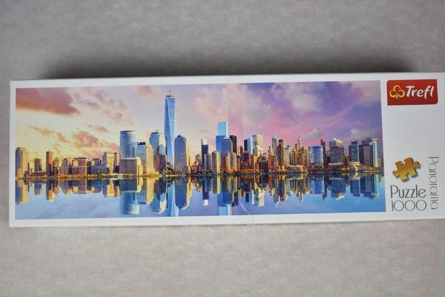 Panoramiczne Puzzle 100 Manhattan