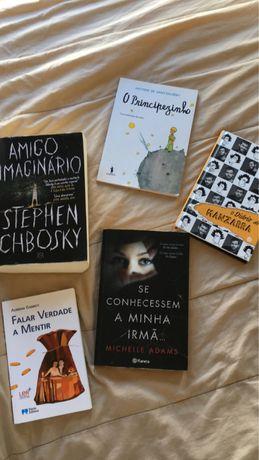 Livros variados BARATOS