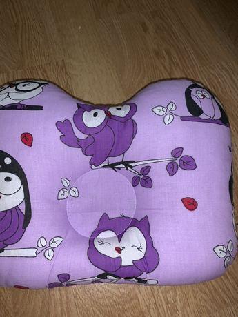 Подушка ортопедическая для новорожденных Olbi