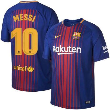 Camisola Oficial Messi 10 época 2017/2018