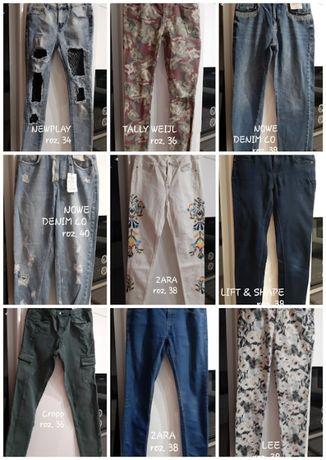 Oryginalne jeansy damskie roz. 34-40