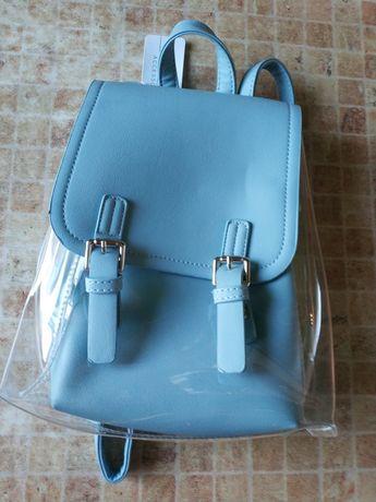Рюкзак оригинальный голубой