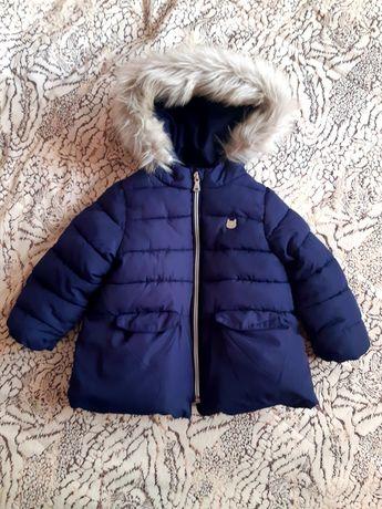 Тепла курточка Zara 12-18