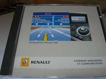DVD / CD Renault de atualização GPS- Atualização GPS / Navegação