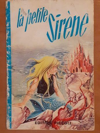 """""""La Petite Sirene"""". Книжечка про Русалочку на французском языке."""