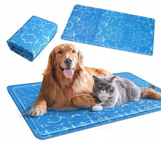 CHŁODNE legowisko dla zwierząt MATA CHŁODZĄCA dla psa, kota L 50x90cm