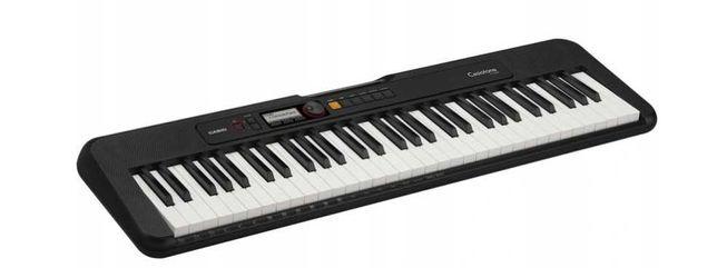 Keyboard Casio CT-S200 BK + Zasilacz ZESTAW! TANIO
